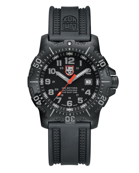 Luminox 45mm Anu 4200 Series Watch, Black