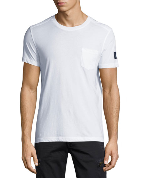 Belstaff New Thom Heritage Jersey T-Shirt, White