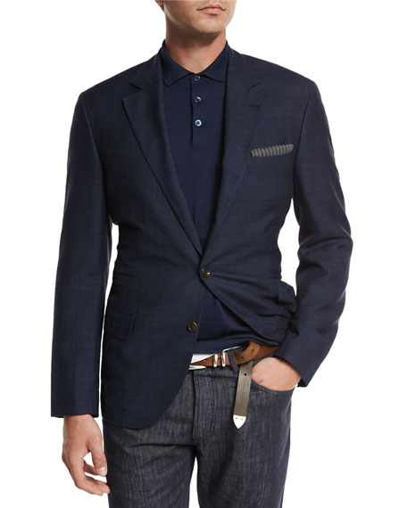 Brunello Cucinelli Polo Shirt, Jeans, Pilot Jacket, &