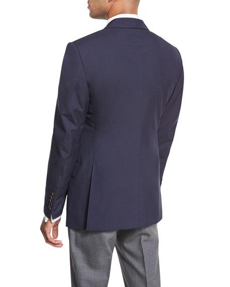 O'Connor Base Plainweave Sport Coat, Navy