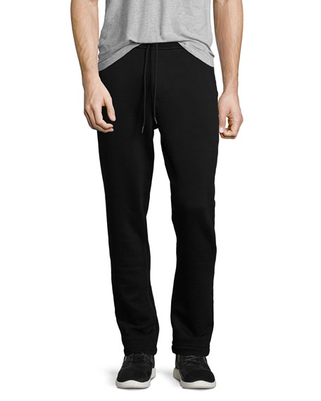 Drippy Horseshoe Sweatpants, Black
