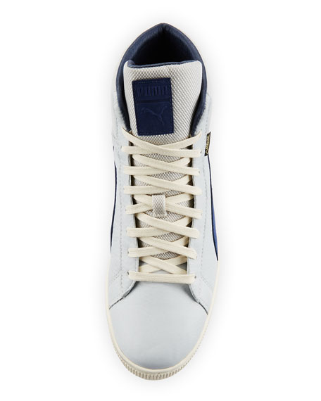 Puma Men's Basket Mid GTX® High-Top Sneakers, Gray