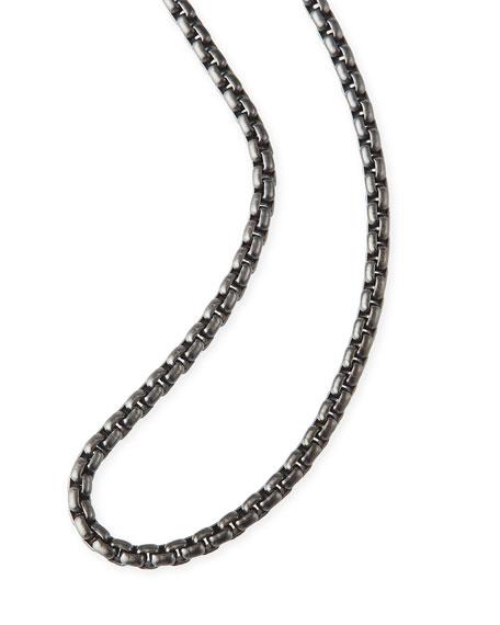 Men's 2.7mm Small Box Chain Necklace