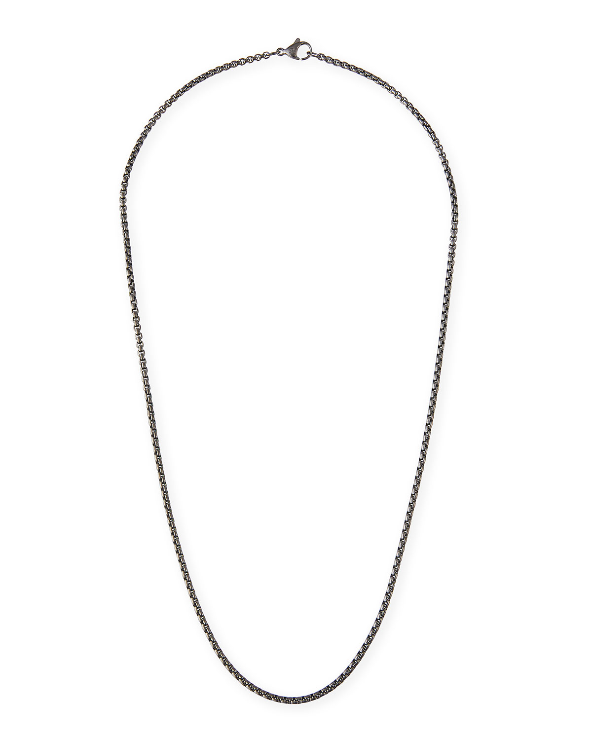 e43fbb1c836af David Yurman Men s 2.7mm Small Box Chain Necklace