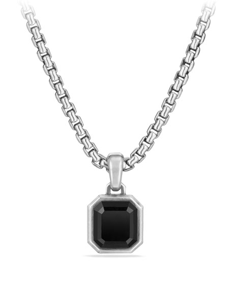 David Yurman Men's Emerald-Cut Onyx Amulet