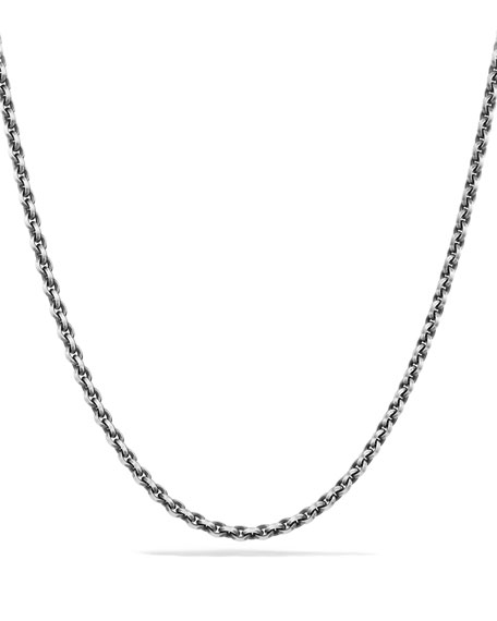 David Yurman 4.6mm Sterling Silver Knife-Edge Chain Necklace