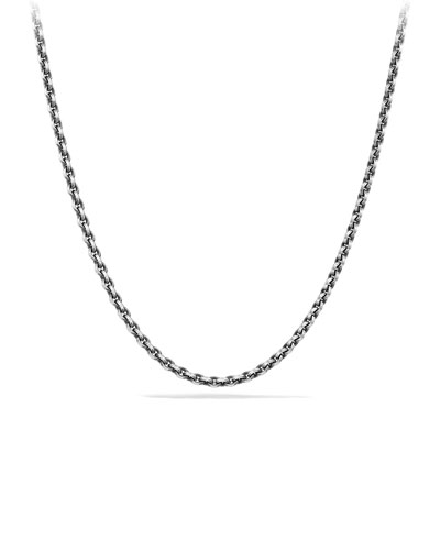 4.6mm Sterling Silver Knife-Edge Chain Necklace