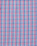Image 2 of 2: Gold Label Micro-Check Cotton Dress Shirt, Blue/Pink