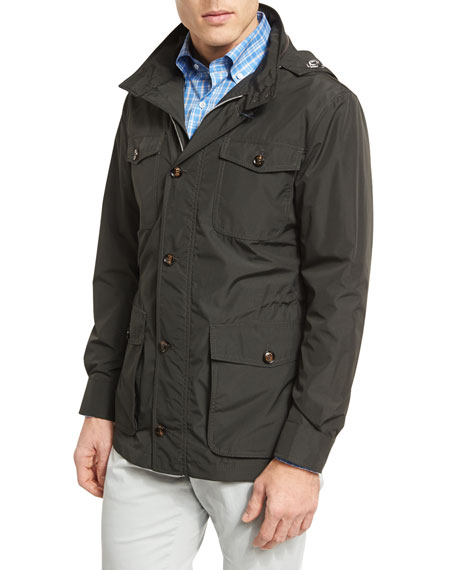 Peter Millar All-Weather Discovery Jacket, Hunter