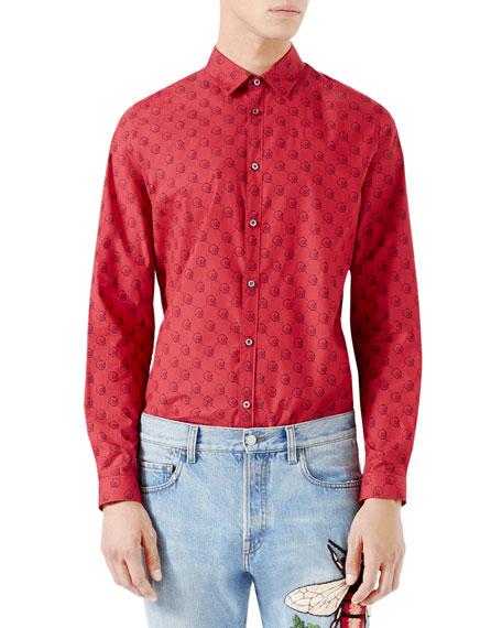 GucciGhost Duke Shirt, Red