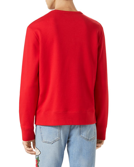 GucciGhost Sweatshirt, Red