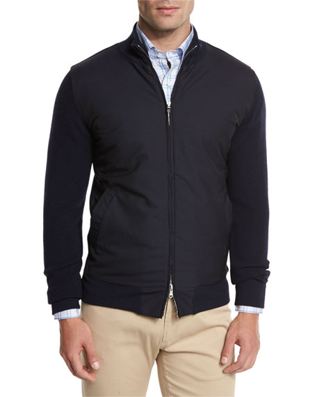 Peter Millar The Excursionist Sweater, Blue