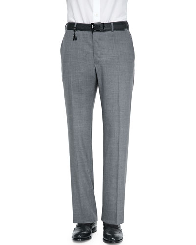 Super 130's Wool Trousers