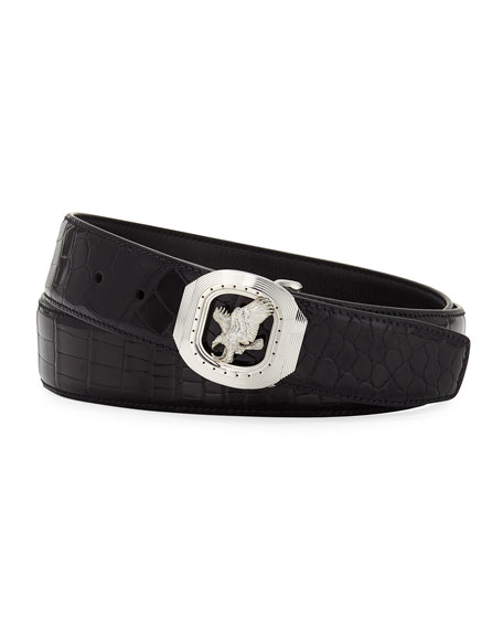 New Eagle Crocodile Belt