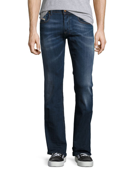 Diesel Zatiny 0679I Boot-Cut Jeans, Blue