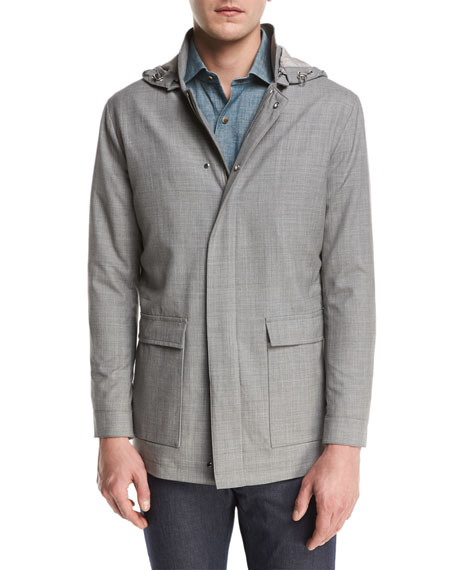 Peter Millar Collection Mirabeau Water-Repellant Merino Wool