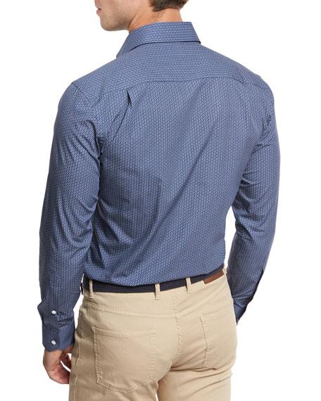 Kochosen Printed Sport Shirt, Blue