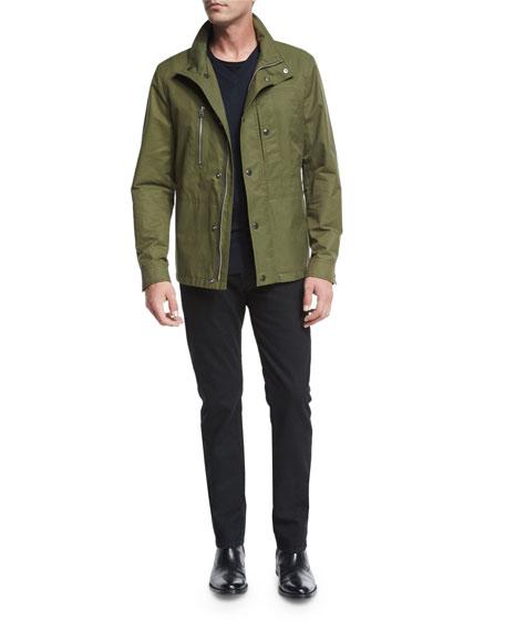 Short Field Coat, Olive