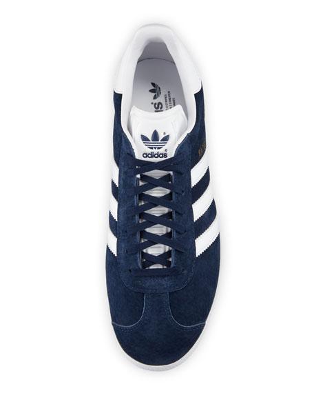 Men's Gazelle Original Suede Sneaker, Navy