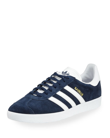 Adidas Men's Gazelle Original Suede Sneaker, Navy
