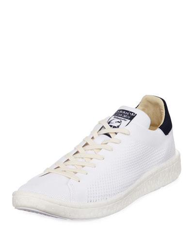 Men's Stan Smith Boost™ Primeknit® Sneaker, Running White/Collegiate Navy