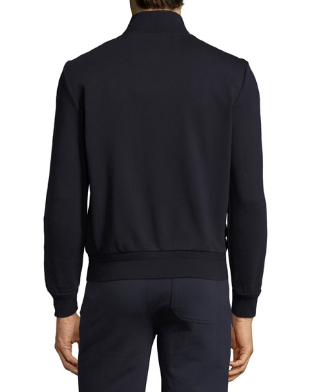 Full-Zip Down Cardigan, Navy