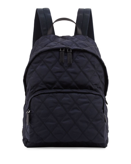 Prada Quilted backpack Cheap Sale Get To Buy For Sale The Cheapest QyMqLh5j