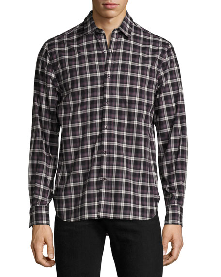 Midwood Plaid Long-Sleeve Shirt