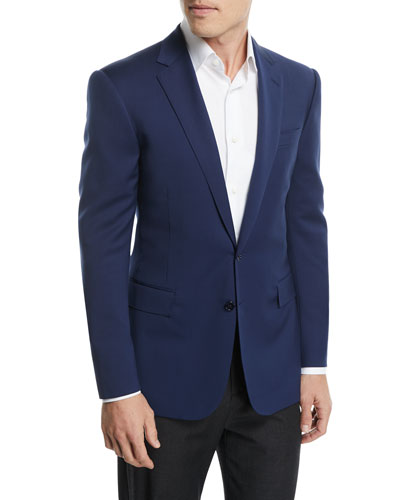 Anthony Solid Cotton Sport Coat