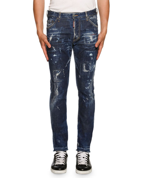 Dsquared2 Cool Guy American Pie Jeans, Blue