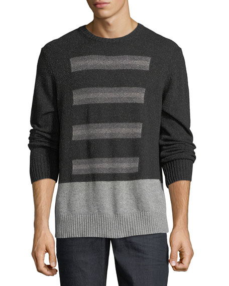 Robert Graham Vostok Donegal Crewneck Sweater