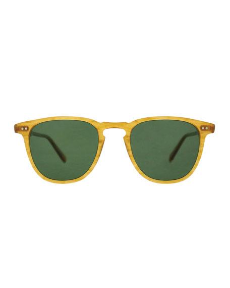 Garrett Leight Men's Brooks Square Sunglasses