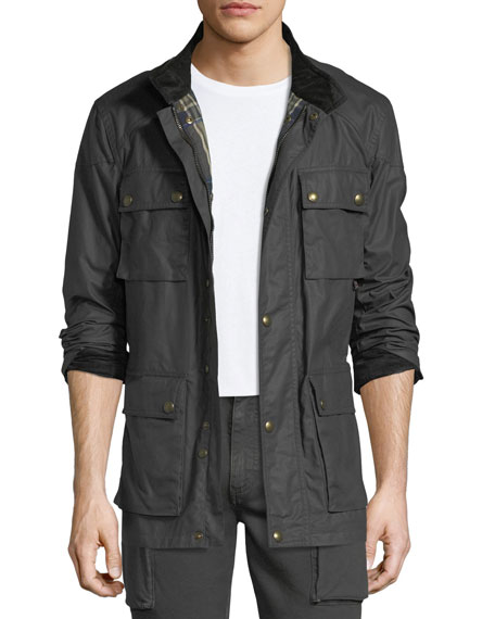 Belstaff Trailmaster Waxed Cotton Utility Jacket