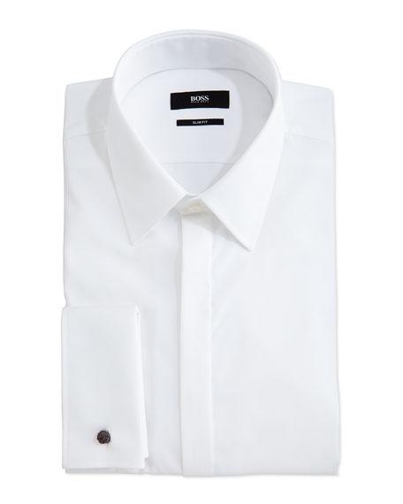 Etro Paisley Jacquard Tuxedo Tuxedo Shirt
