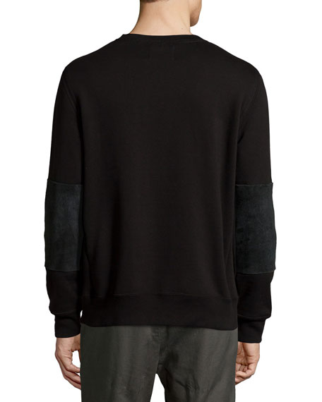 Dover French Terry Sweatshirt, Black