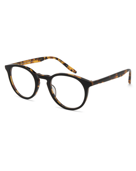 Men's Princeton Round Acetate Optical Frames