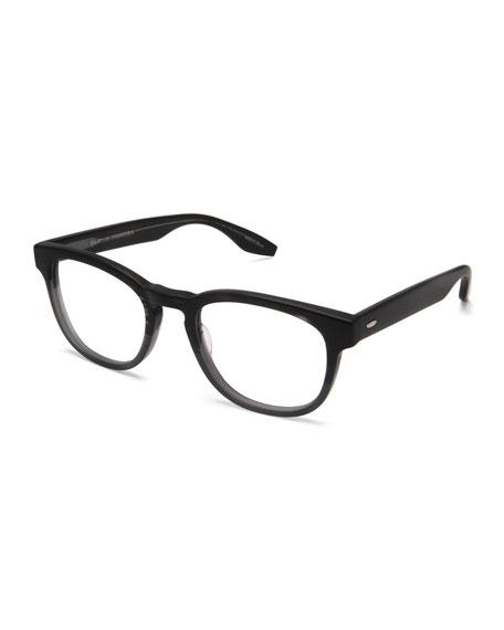 Men's Byron Universal Fit Square Optical Frames, Matte Turtle Dove