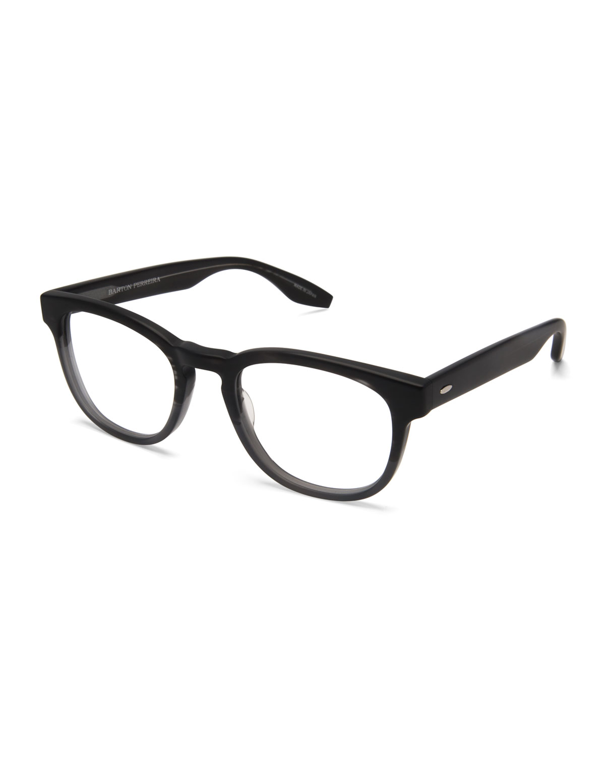 Barton Perreira Men S Byron Universal Fit Square Optical