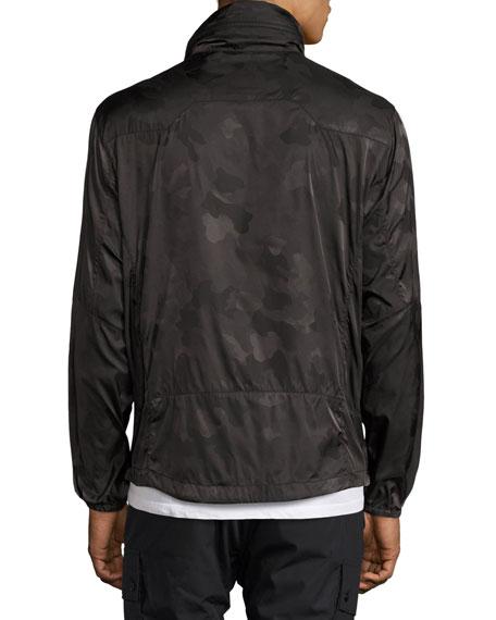 Nylon Camo Track Jacket