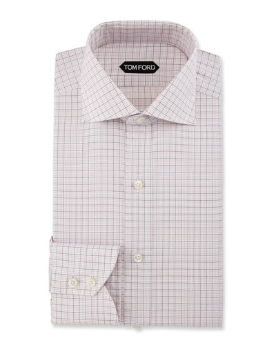 TOM FORD Dress Shirts : Woven &amp Check at Neiman Marcus