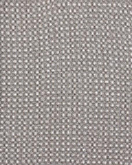 Slim-Fit Solid Dress Shirt, Gray