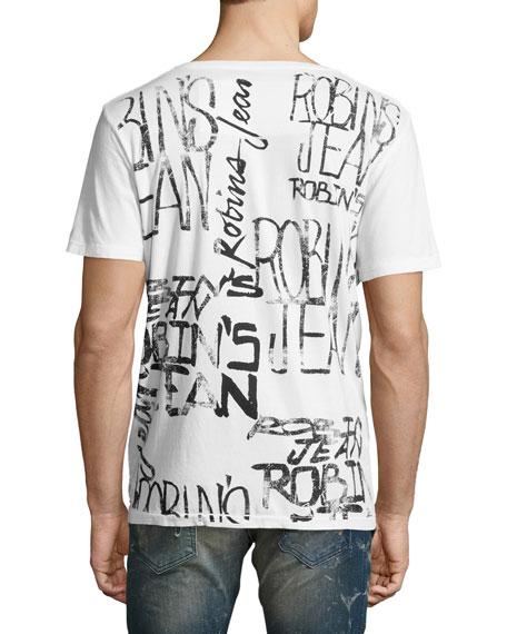 Logo-Print T-Shirt, White