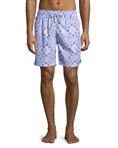 Retromarine Guillauche Fungi Swim Trunks, Purple