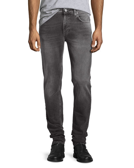 Nudie Lean Dean Skinny Jeans, Gray Hunt