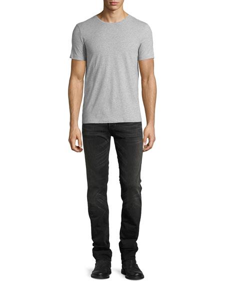 Grim Tim Slim Jeans, Black