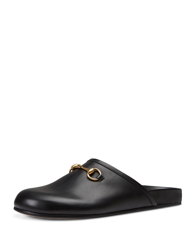 51e148c1b3d2 Gucci Horsebit Leather Slipper