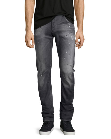 G-Star Arc 3D Slim-Straight Jeans, Gray