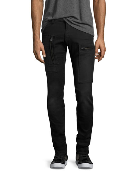 G-Star Powel Super-Slim Tapered Jeans, Black
