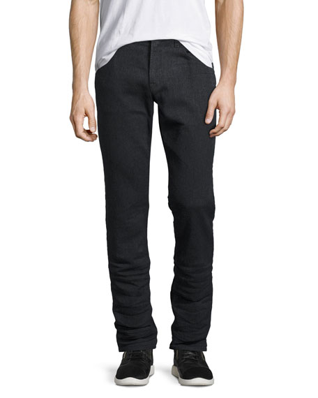 Hudson Blake Slim-Straight Jeans, Vigor Black
