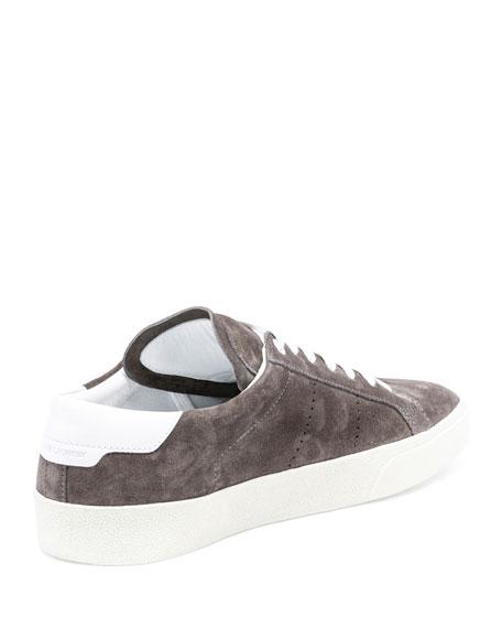 Men's SL/06 Suede Low-Top Sneakers, Gray